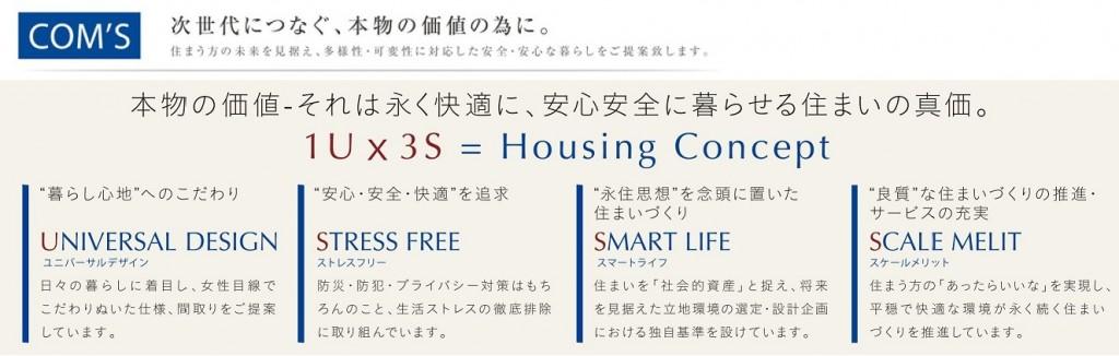 concept【1U×3S】