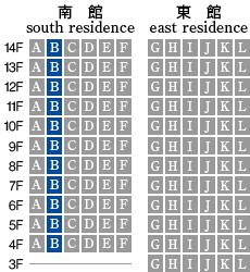 アーデントクレイル山の田本町 B-type 配置図
