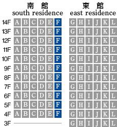 アーデントクレイル山の田本町 F-type 配置図