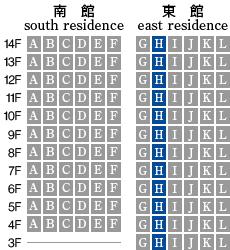 アーデントクレイル山の田本町 H-type 配置図
