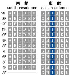 アーデントクレイル山の田本町 I-type 配置図