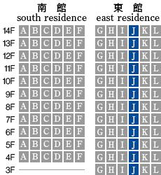 アーデントクレイル山の田本町 J-type 配置図