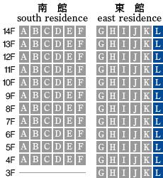 アーデントクレイル山の田本町 L-type 配置図