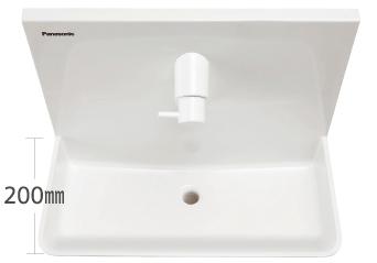手洗いユニット(有機ガラス系新素材)